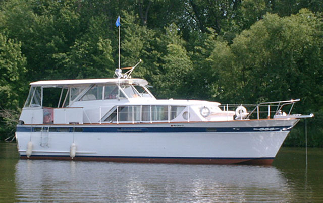 1962 45 chris craft constellation 89 000 st paul for Chris craft boat club