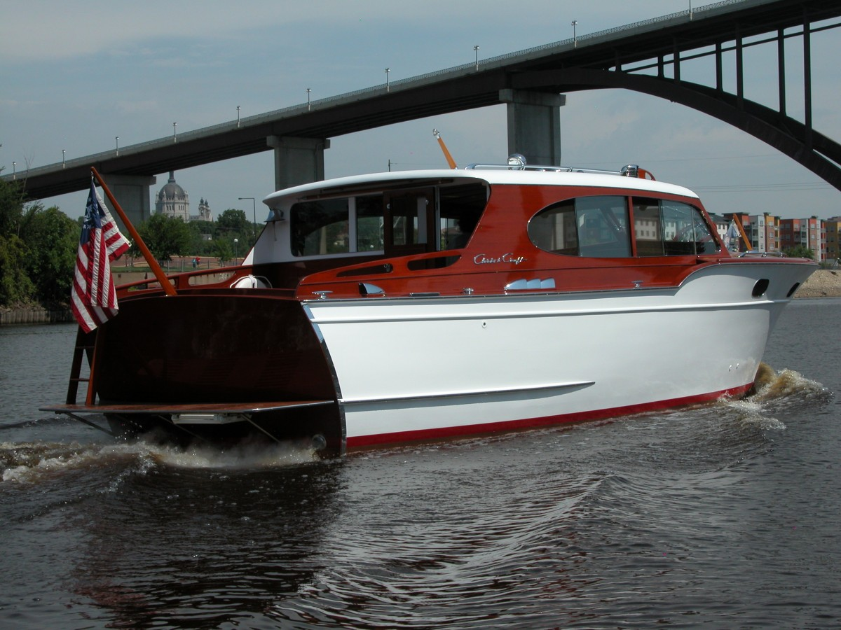 1954 31 Chris Craft Sedan Cruiser Price Reduced 79 000